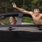 junge autofahrer