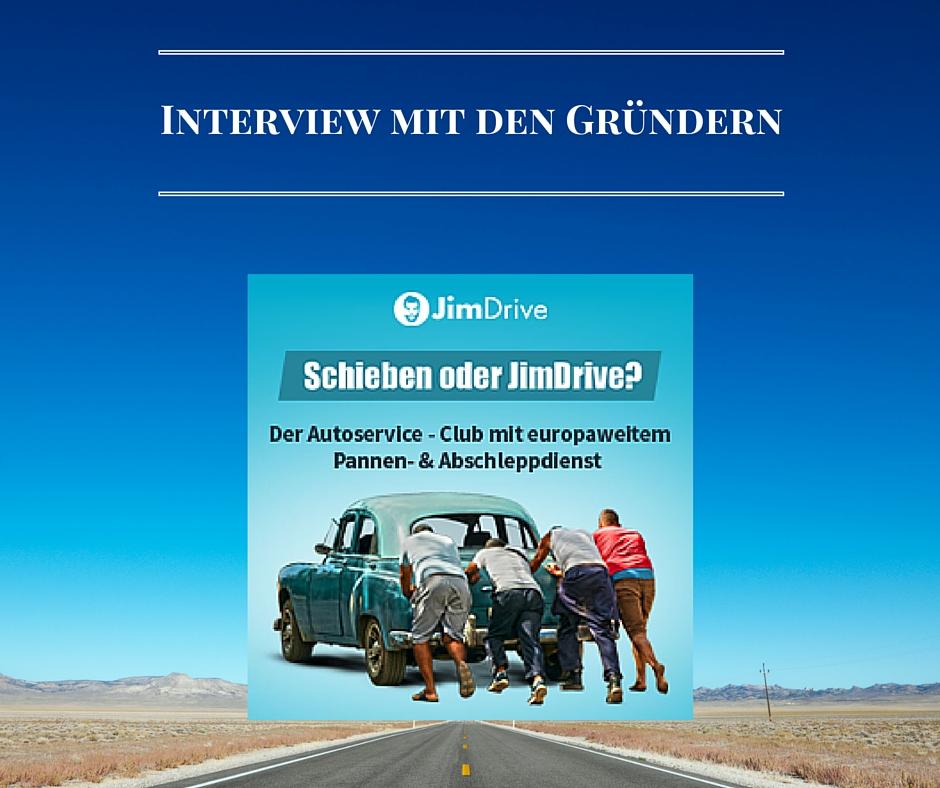 Interview mit den Gründern von Jim Drive