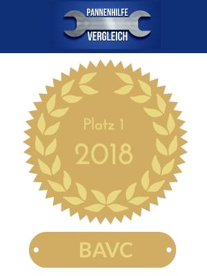 BAVC Automobilclub - meistgewählt 2018